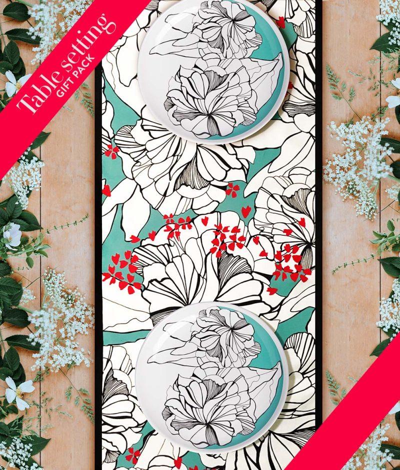 gift-pack-table-set-flower